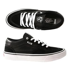 Vans Rowan Pro Shoe, Black/ White