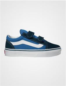 Vans Old Skool V Shoe, Navy True White