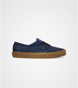Vans Authentic Gum Night Sky Shoes, True Navy