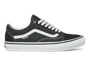 Vans Skate Old Skool Shoe, Black/ White