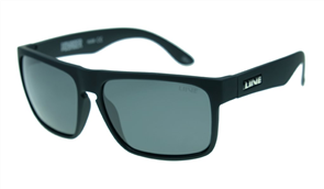 Liive Voyager Polar Sunglasses, Matt Black Rubber