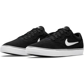 Nike SB Chron 2 Skate Shoe, BLACK/WHITE
