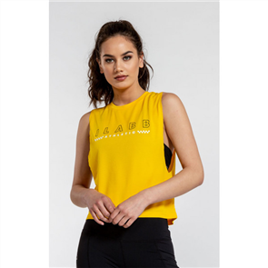 iLabb WIN WOMENS SLEEVELESS TANK, MARIGOLD