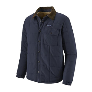 Patagonia Mens Isthmus Quilted Shirt Jacket, New Navy