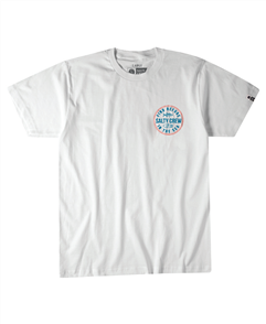 Salty Crew Twin Fin Short Sleeve Tee, White