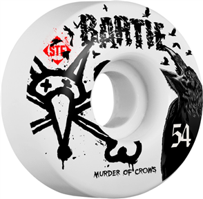 Bones STF - 54mm Bartie Crows V1 Wheels