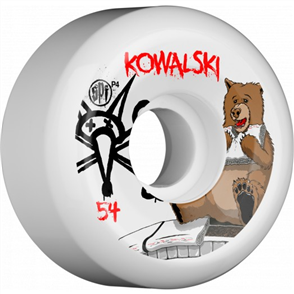 Bones SPF Kowalski Bear Durometer 84B Shape P5 Wheels, Size 56mm