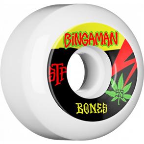 Bones STF Bingaman Attiude Shape V5 Wheels