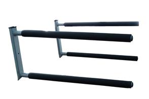 Curve SUP Wall Rack Double Aluminum