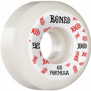 Bones 100 #3 V5 Sidecut OG Formula Wheels, 53mm