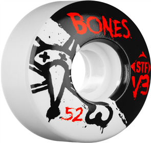 Bones STF - 52m Team V3 Series Wheels