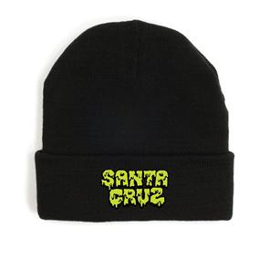 Santa Cruz Melt Youth Beanie, Black