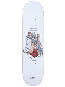 April Skateboards Yuto Horigome Perfect Spot, 8.0