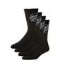 Free Santa Cruz Socks 4 Pack Black Value $25