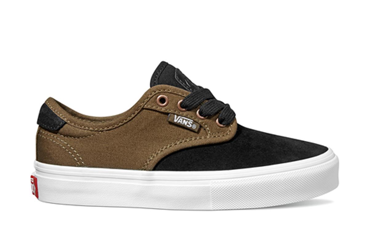 8035f8dee8 Vans Chima Ferguson Pro Youth Shoes Black Teak