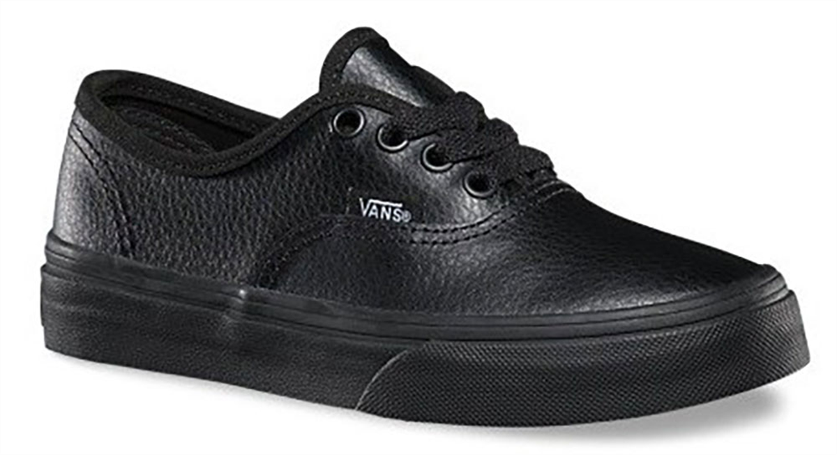 Vans Authentic Leather Youth Shoe
